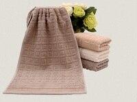 Wysokiej jakości ręczniki bawełniane Dorosłych duży rozmiar wysokiej wody chłonne soft feel zera skręt przędzy tkaniny twarz dłoń ręcznik