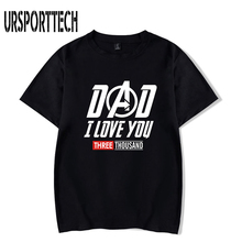 I Love You 3000 Times Hip Hop T Shirt Men Summer Cotton Loose Short Sleeve Black Tshirt Big Size 4XL Tee Shirt Homme De Marque t shirt chicco size 086 flower i love you pink