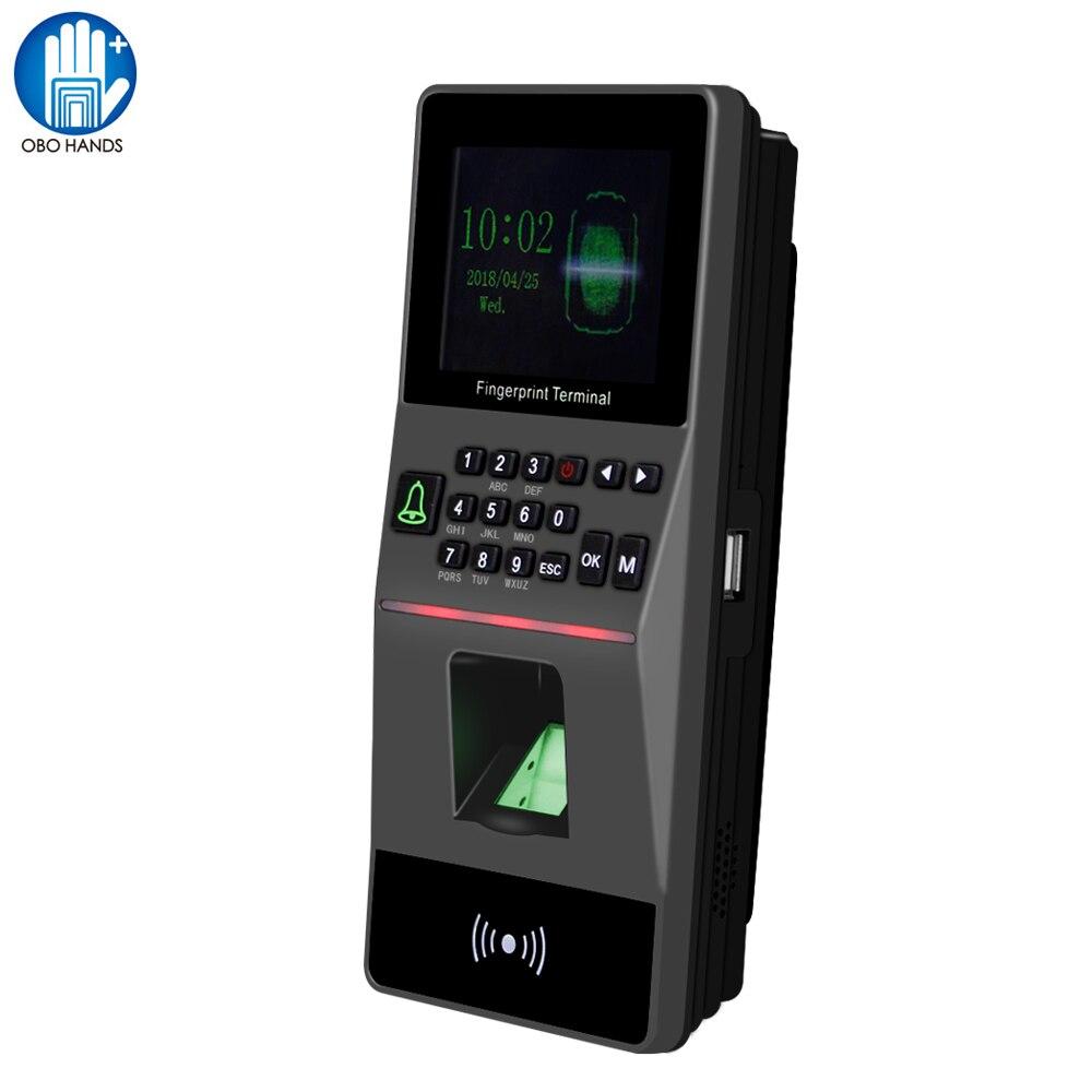 Anglais autonome lecteur biométrique d'empreintes digitales USB contrôle d'accès par empreinte digitale serrure de porte assistance de temps et mot de passe RFID