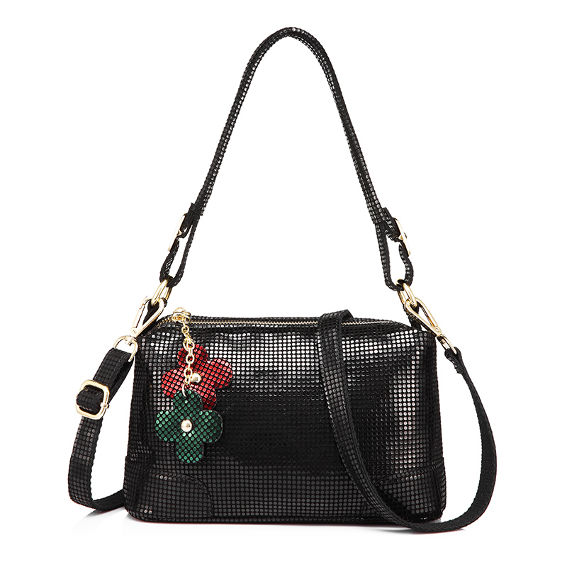 Realer New Summer Women Handbags For 2018 Female Shoulder Bags Fashion Totes Crossbody Bag Genuine Leather With Flowers Tassel