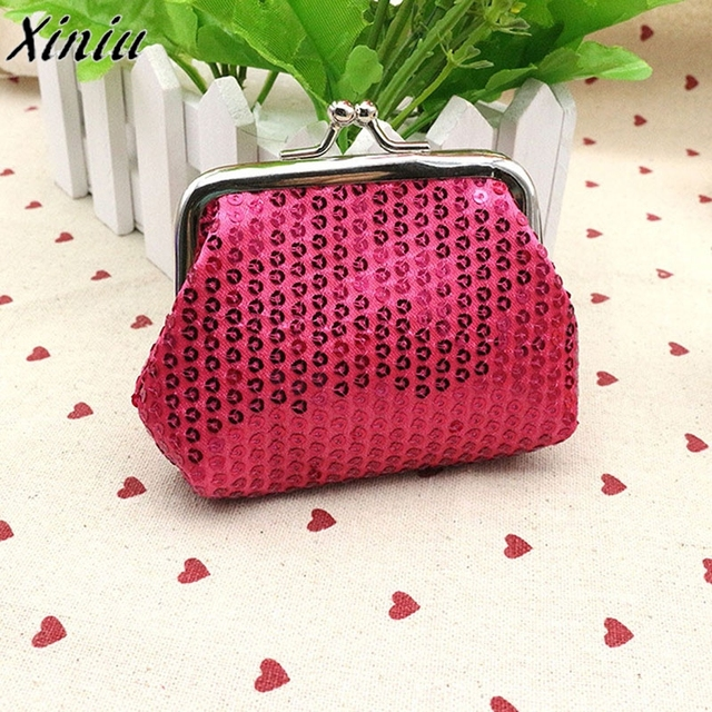 New Fashion Womens Bag Small Sequin Wallet Card Holder Coin Purse Clutch Handbag  Bag Children s Wallet Purse For Coins Hot Sale f39858fdc99c