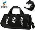 Hot New Professional Large Sports Bag Gym Bag Men Women Independent Shoes Storage Ball Sports Fitness Bag Portable Shoulder
