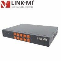 LINK MI LM SH21 HDMI VGA CVBS 2x1 HD Video Synthesizer Processor