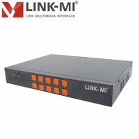 LINK MI LM SH21 HDMI VGA CVBS 2x1 switch HD Video Synthesizer Processor Video Wall Controller For LED Display 1920x1080@60Hz