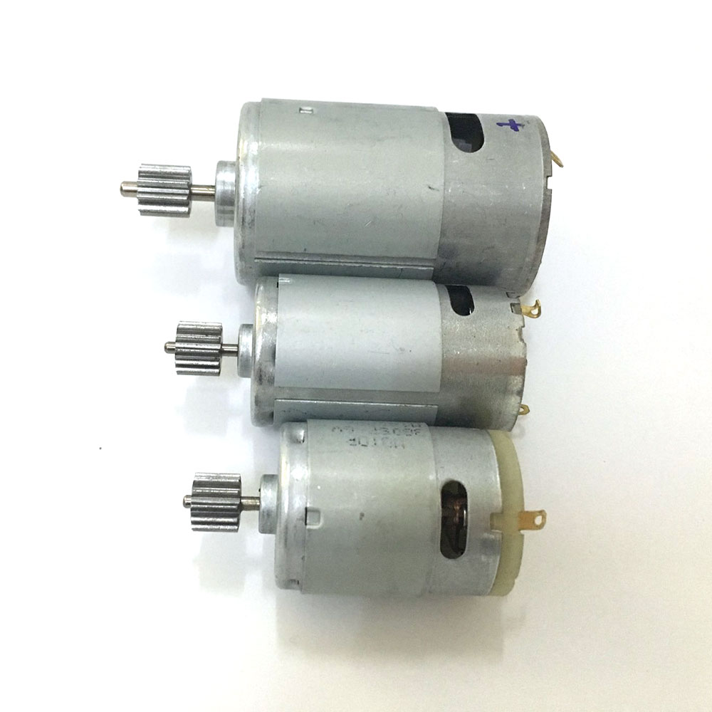 Niños coche de Control remoto eléctrico motor 12 V DC, niños motocicleta eléctrica 6 V motor eléctrico, 550 380 390 motor