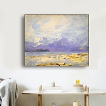 River Scenery Famous Oil Paintings Wall Art Poster Print Canvas Painting Calligraphy Decor Picture for Living Room Home