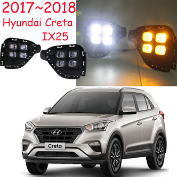 LED,2017~2018 Hyundal Creta IX25 daytime Light,IX25 fog light,IX25 headlight,accent,Elantra,Genesis,i10,i20,IX25 taillight
