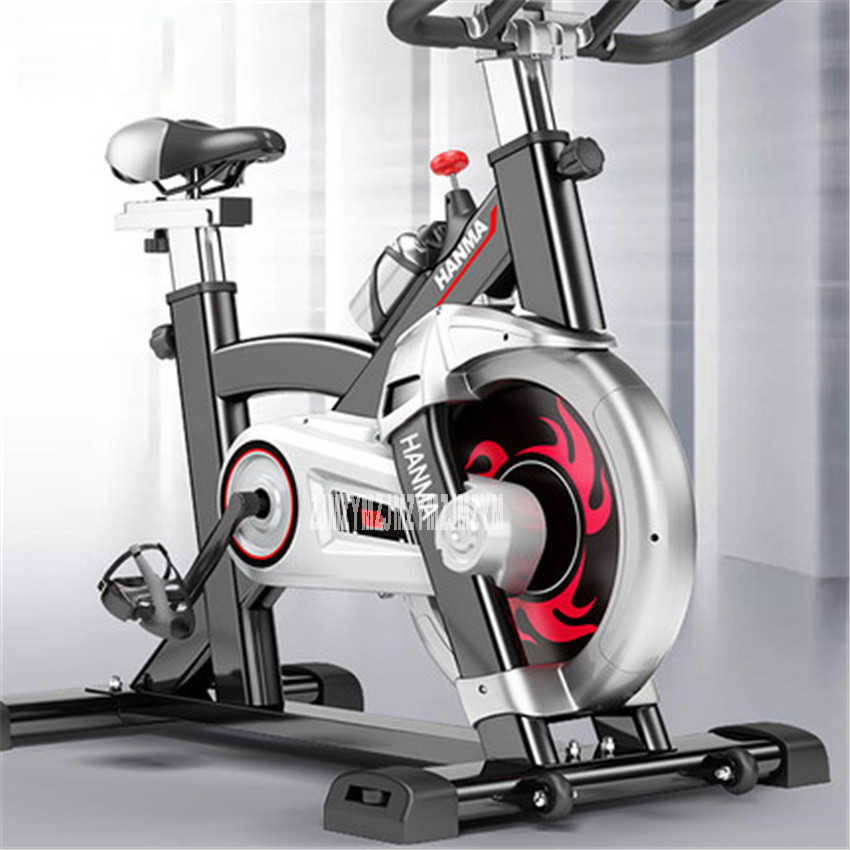 HM-616 Ultra - quiet fitness car home bicycles indoor sports to lose weight fitness equipment load 120kg Indoor Cycling Bikes ancheer indoor folding magnetic upright exercise bike with pulse home gym cycling bike bicicleta estatica fitness equipment