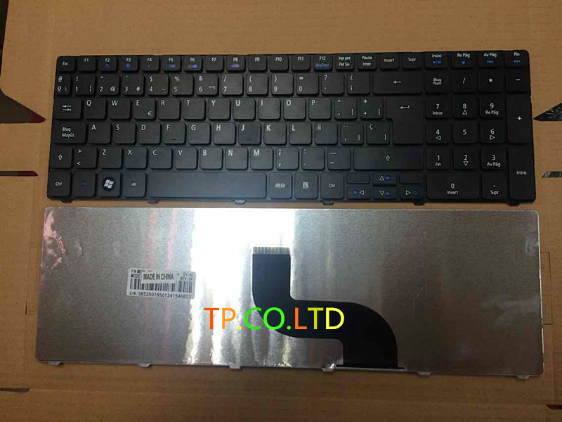 Brand New LAPTOP <font><b>keyboard</b></font> For <font><b>ACER</b></font> ASPIRE 5736 5736G <font><b>5736Z</b></font> 5738 5738Z 5738G 5738ZG 5738DG 5733 5733Z Spanish version image