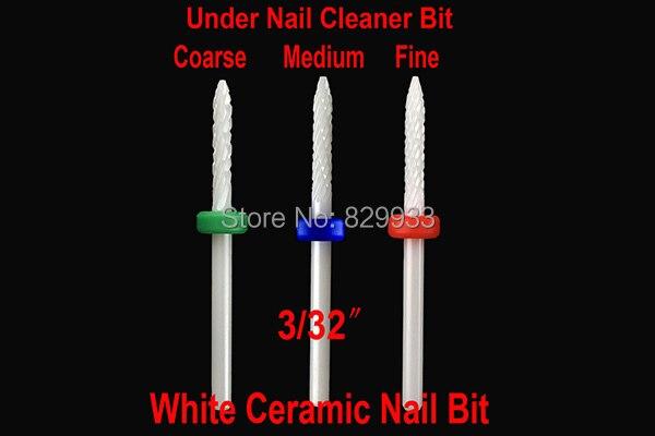 Hot Professional Ceramic Nail Drill Bits Manicure Pedicure Nail Art Salon Tools Electric Machine Cuticle Remover Cleaner Car