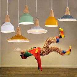 Nowoczesne LED E27 żyrandol nowość loft Nordic oświetlenia oprawy oświetlenie domu światła salon jadalnia lampy wiszące