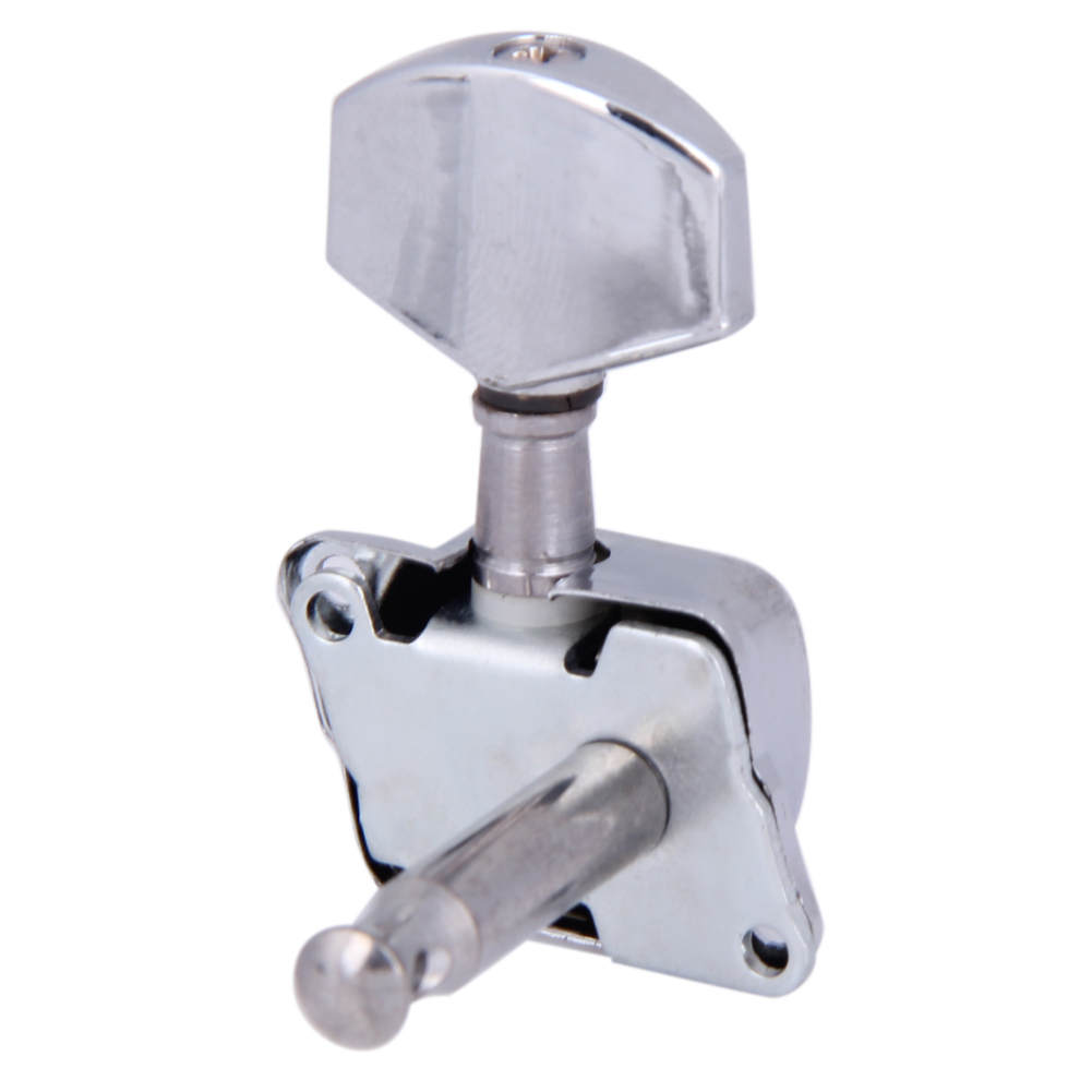 NEW Semiclosed Guitar String Kit Tuning Pegs Tuners Machine Heads 3L3R (Silver) High Quality Guitar Parts & Accessories