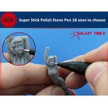 GALAXY Tools lápiz de piedra para pulir, modelador, superpalo, modelo, varilla de molienda, mejora de precisión