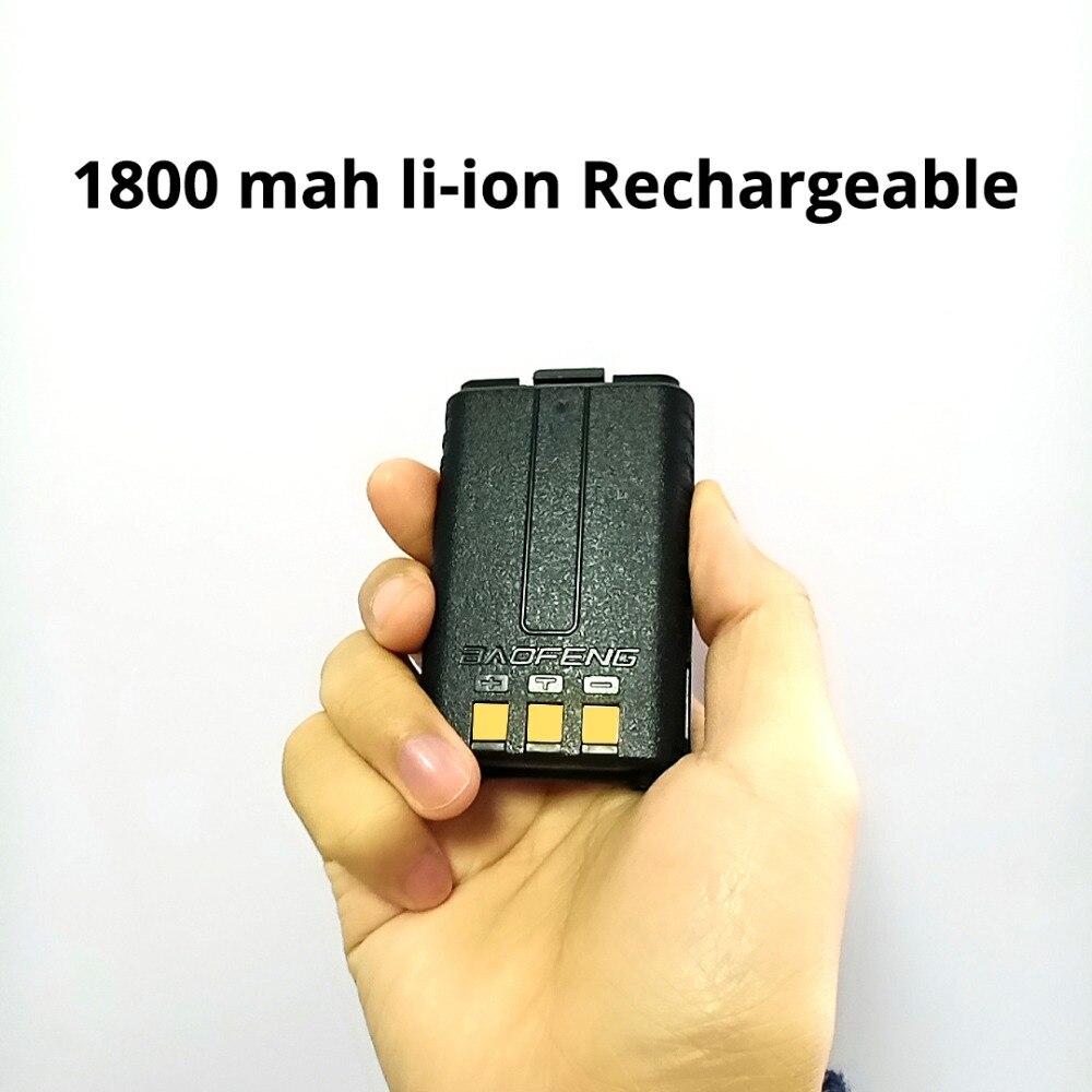 Image 3 - 5 個 Baofeng UV 5R バッテリーオリジナル UV 5R 5RE ラジオバックアップバッテリートランシーバー 1800  3000mah のリチウムイオン電池 BL 5 7.4 12V 充電式 -    グループ上の 携帯電話