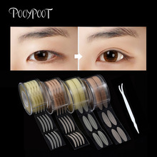 Pooypoot 600Pcs Eyelid Tape Sticker Invisible Double Eyelid Paste Natural Instant Eye Lift Eyes Makeup Tape 4 Styles Available цена