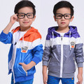 New 2017 Clothing Male Children Outerwear with Hat /Kids Jackets & Coatst  /Coats Jackets For Children/Boy Fashion 2017 Spring