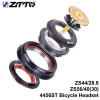 ZTTO 4456ST MTB велосипедная шоссейная велосипедная гарнитура 44 мм 56 мм ЧПУ 1 1/8