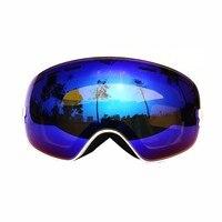 2017 COPOZZ Ski Snowboard Snow Goggles Skiing Eyewear Ski Glasses Motocross Sunglasses Women Men
