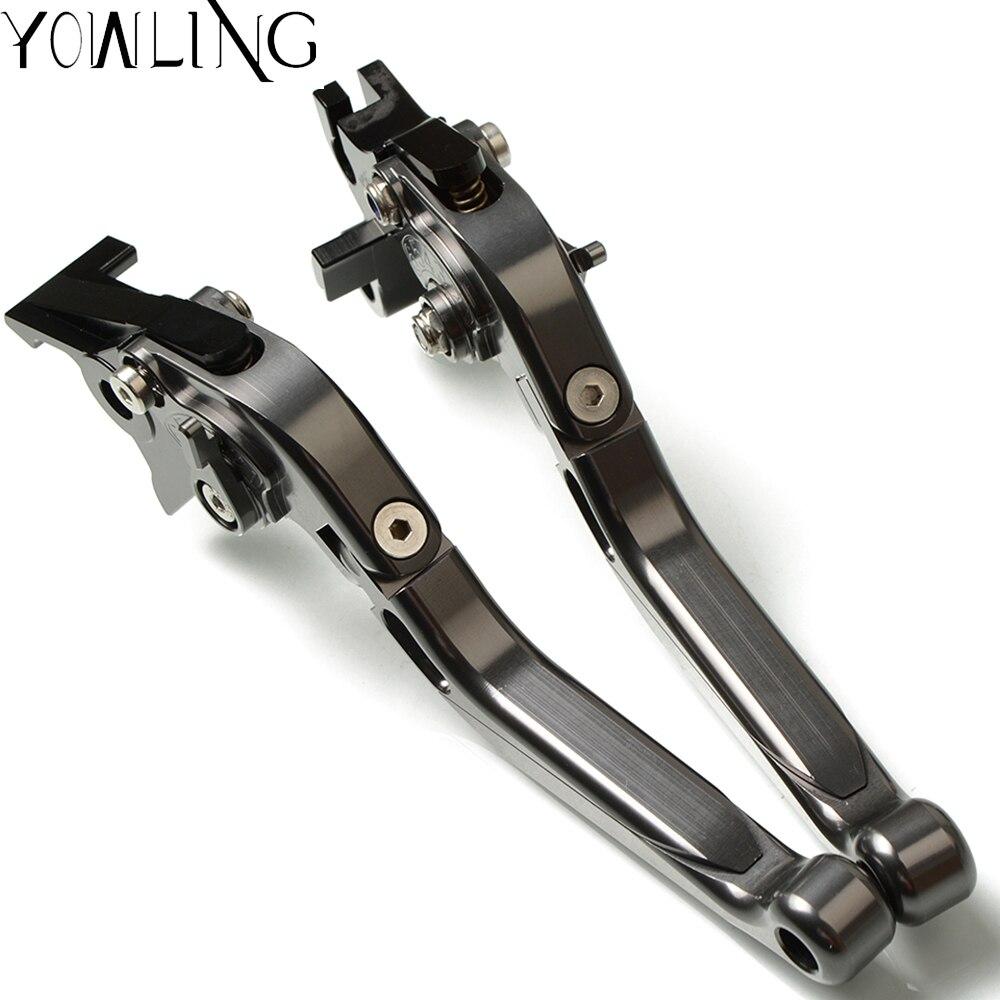 Pour Vespa Granturismo 125/200 GTS 125/250 S125/150/300 Super moto accessoires leviers d'embrayage de frein extensibles réglables