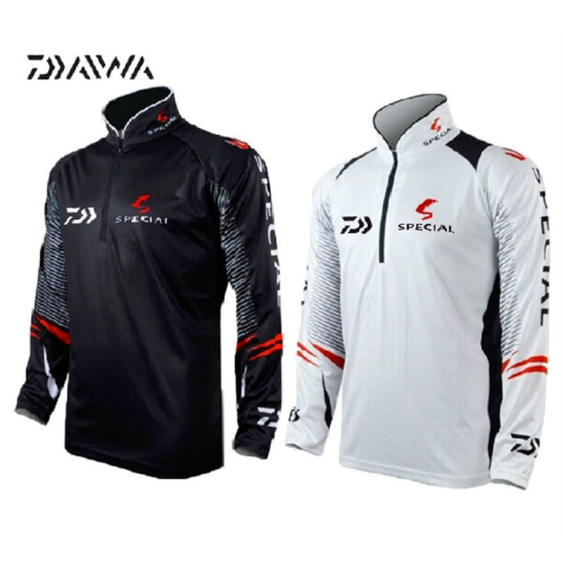 DAIWA DAWA Fishing Clothing Breathable UV Protection Man Outdoor Shirts Moisture Wicking Long Sleeve Fishing ClothesDAIWA DAWA Fishing Clothing Breathable UV Protection Man Outdoor Shirts Moisture Wicking Long Sleeve Fishing Clothes