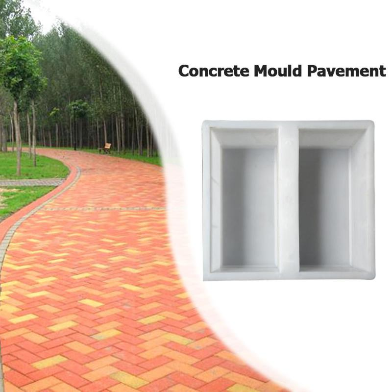 Plastic Garden Path Maker Paving Mold Cement Road Concrete Pavement Mold Stone Road Paving Moulds Tool For Garden Decoration