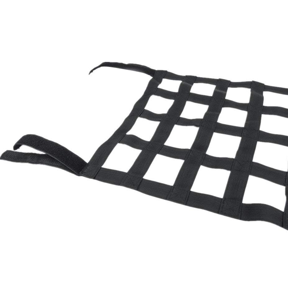 Heavy Duty Cargo Net Car Top Roof Hammock Bed Rest Storage Network Cover For Jeep Wrangler JK 2007 Up Exterior Accessories Cover (2)