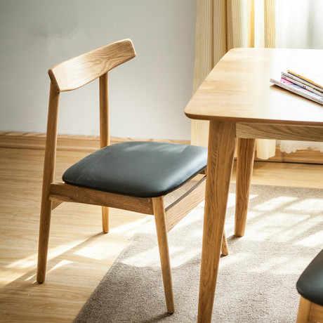Коммерческие стулья для кафе мебель для кафе из твердой древесины + кожа/хлопок кофейный стул из ткани обеденный стул шезлонг минималистичный 56*42*78 см