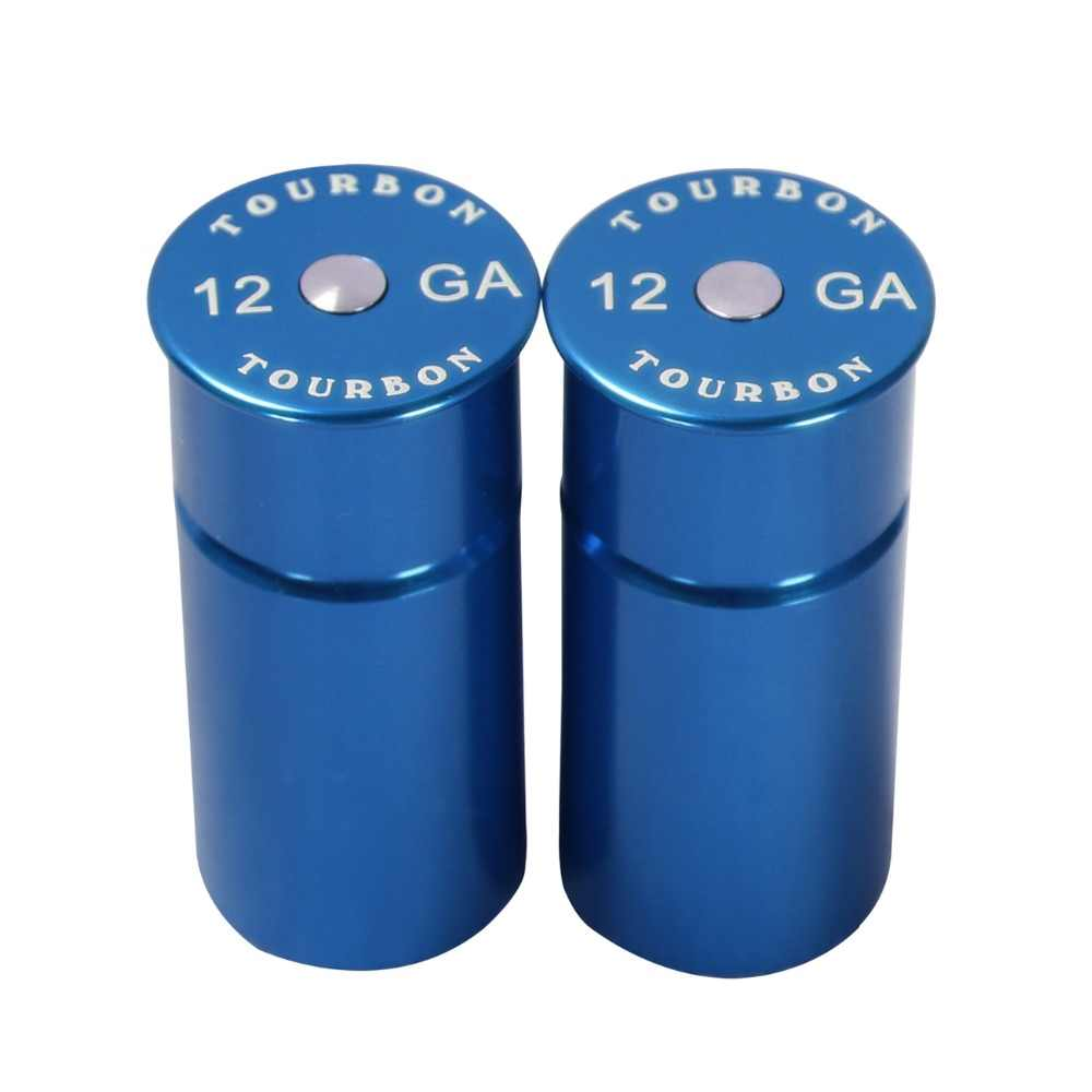 Tourbon 12Gauge Shotgun Snap Caps Tactical Training Rounds 2 Reusable Blue for Shooting Hunting Gun Accessories