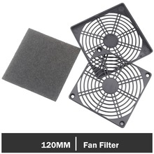 5Pieces Gdstime Dustproof Dust Filter Guard Grill Cover for 120mm PC Case Fan aluminum 120mm computer fan cooling dustproof dust filter shield case aluminum grill guard