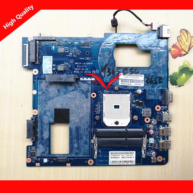 La 8864 p motherboard mainboard para samsung np365e5c np355v5c la-8864p 100% probado garantía 3 meses