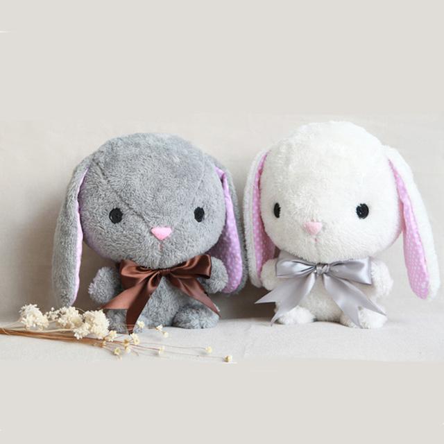 1/Pcs Kawaii Juguetes de Conejo de Peluche Para Niños Regalos Juguetes de Peluche juguetes de Peluche de Felpa Animales Juguetes 2016 Nueva Llegada Conejos encantadores