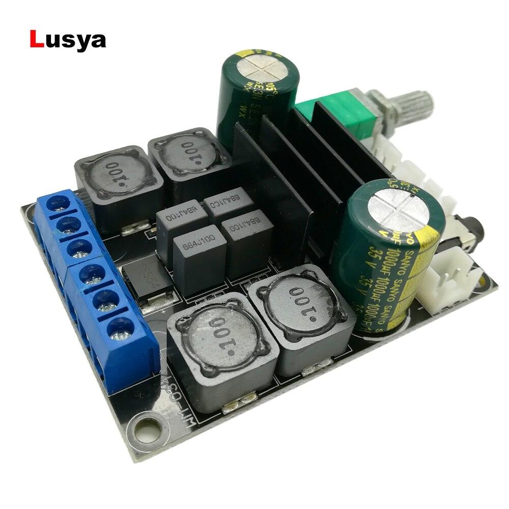 TPA3116 D2 2x50 W DC10-25V Stereo HIFI Digitale 2.0 Audio Bordo Dell'amplificatore di Potenza G2-006