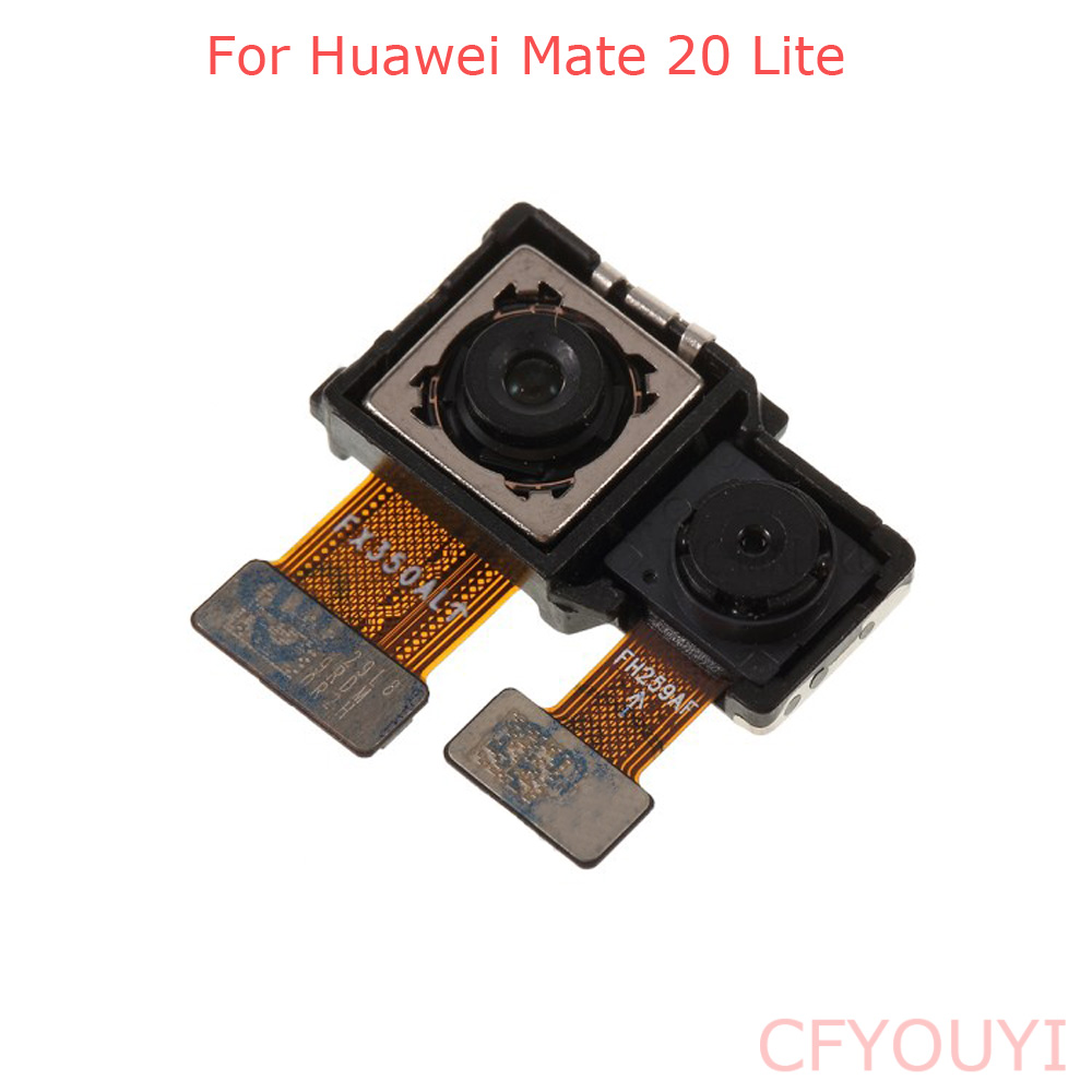 For Huawei Mate 20 Lite Front Facing Camera Flex Cable Rear Big Back Camera Module Part