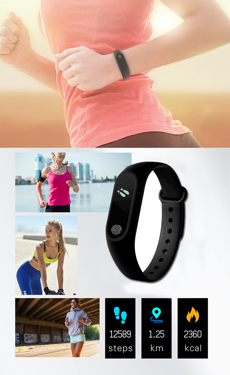ring type watch for jogging