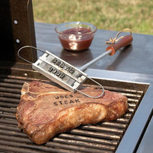 Personality Steak Meat Barbecue BBQ Meat Branding iron with changeable letters BBQ Tool Changeable 55 Letters IC871734