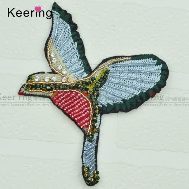 Aliexpress Buy Popular Fashion Bird Beaded Embroidery Patch