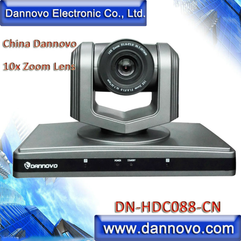 DANNOVO DVI 1080P Video Conference Camera، China 10x Optical - مكتب الالكترونيات