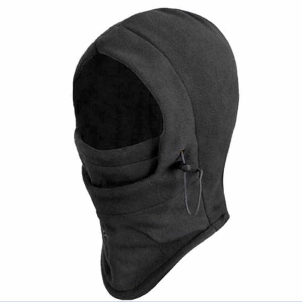8230462434f 1Pc Black Face Mask Motorcycle Hat Hood Full Face Keep Warm Anti-cold  Windproof Snowboard