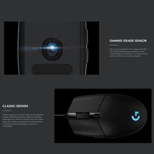 Image 5 - Logitech G102 Gaming Mouse 8000DPI Adjustable RGB Macro Programmable Mechanical Button Wired Mouse Game Mice For Windows10/8/7