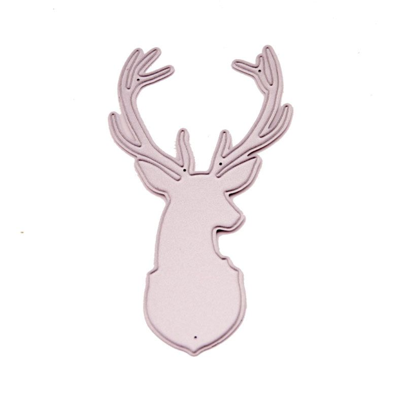 Elk Design Metal Cutting Dies For DIY Scrapbooking Card Paper Album OC