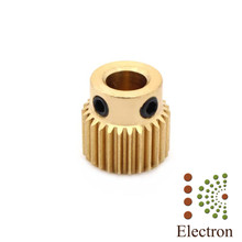 5pcs/lot 3D Printer Extruder Pulley 26 Teeth Bore 5mm Drive Gear for 1.75mm & 3mm Filament free shipping