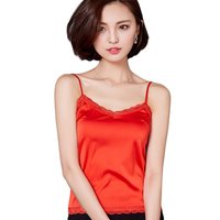 Winter Tank Top Women Sexy Sleeveless V Neck Silk Basic Tops Blusas Casual Vest Camisole Crop