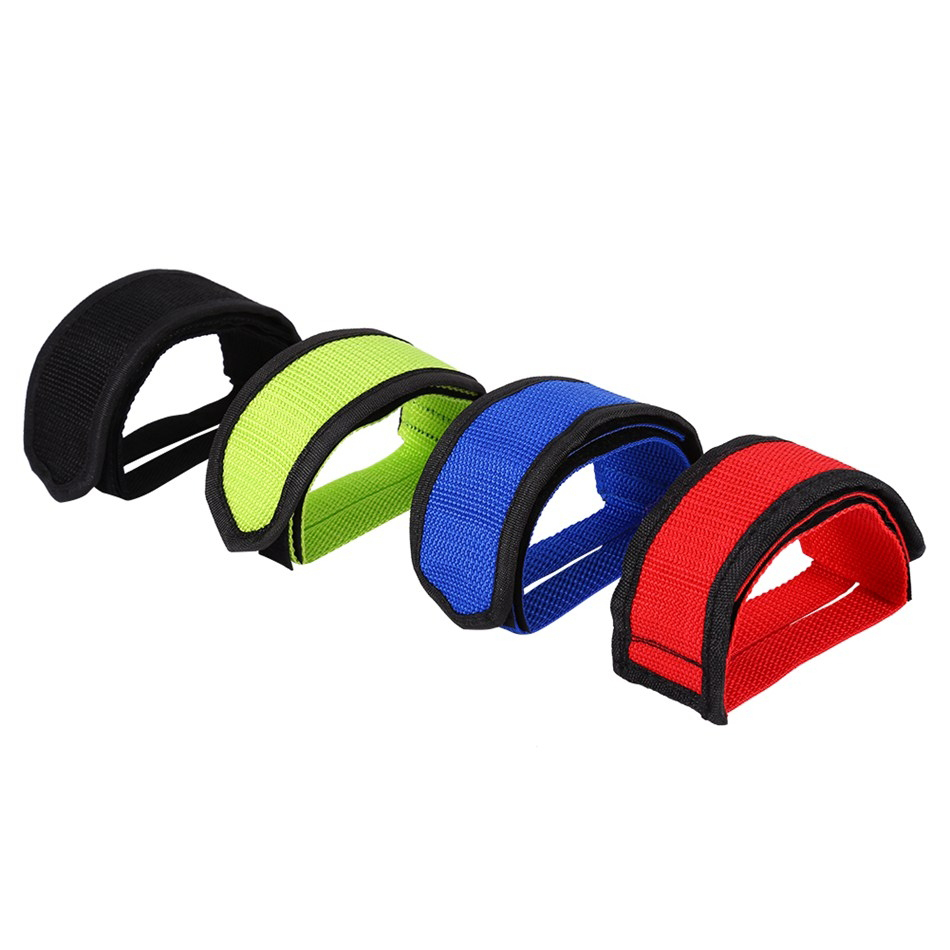 X2 WELLGO TOE STRAPS TOE CLIP STRAPS FOR BIKE BICYCLE PEDALS TRACK PISTA FIXIE