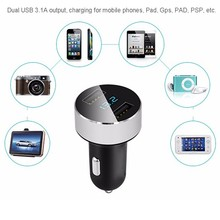 Smart Car Charger 2 USB DUAL Ports Lighter Adapter Mobile Phone Charger For Xiaomi Tablet iPhone Huawei P10 samsung galaxy s8
