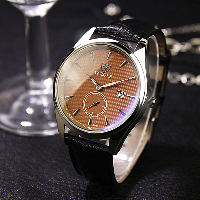 YAZOLE Wristwatch Wrist Watch Men Watches 2017 Top Brand Luxury Famous Male Clock Quartz Watch for Men Hodinky Relogio Masculino