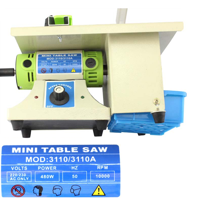 480W universalus šlifuoklis stalo pjūklo šlifavimo poliravimo - Medienos apdirbimo įranga - Nuotrauka 4