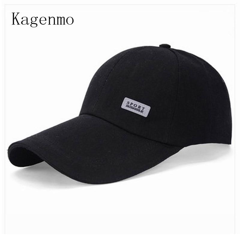 Kagenmo новых прибыть летом отдохнуть бейсбольная Кепка мужчины женщины лето солнцезащитный крем Бейсбол шляпы длинные Брим солнцезащитный козырек 10шт/много