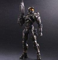 Free Shipping Cool 10 Playarts KAI Game Halo 5 Guardians Master Chief Boxed 25cm PVC Action