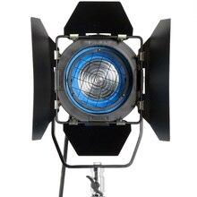 650 W Fresnel De Tungsteno Spotlight Iluminación de Estudio Luz de Vídeo + Bombilla + cámara Barndor envío gratis