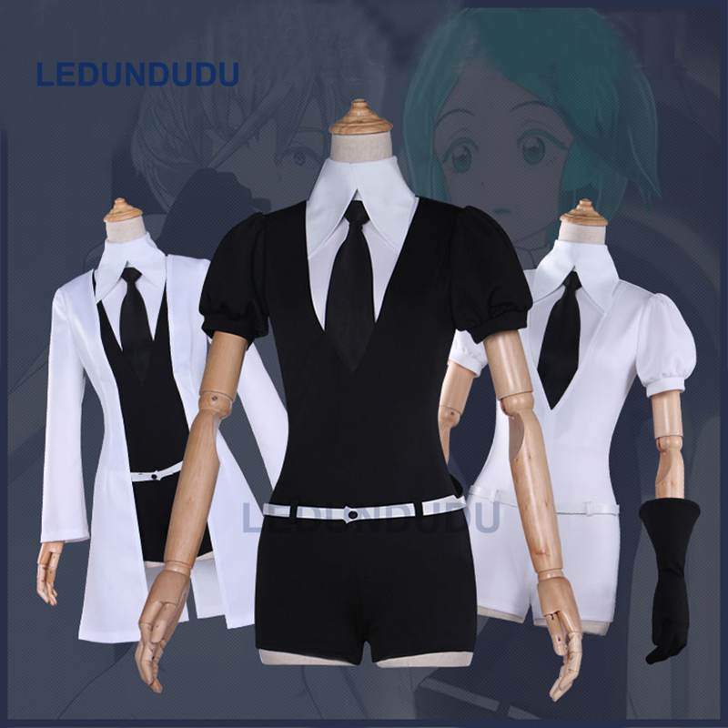 New Anime Houseki no Kuni Phosphophyllite Cosplay Uniform